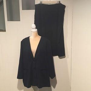 Maggie Barnes Jacket & Skirt Suit, Size 22W